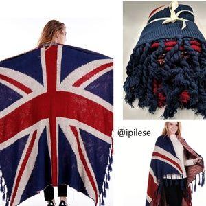 Ultra Plush Soft Knit United Kingdom Blanket Throw